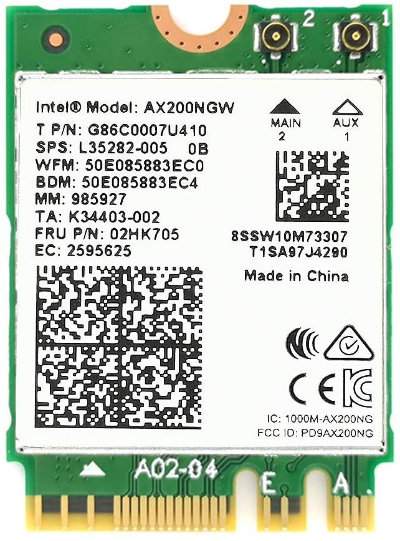 Intel製 AX200モジュール