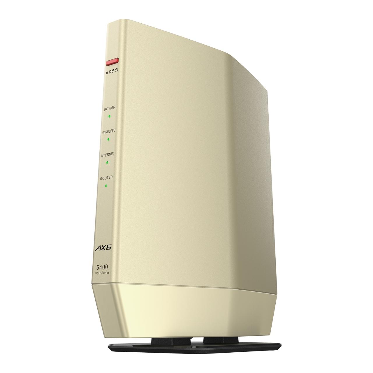 競合製品となるWSR-5400AX6